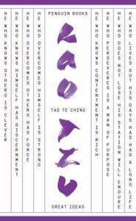 Penguin Great Ideas: Tao Te Ching by Lao Tzu
