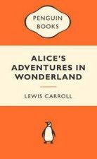 Popular Penguins Alices Adventures in Wonderland