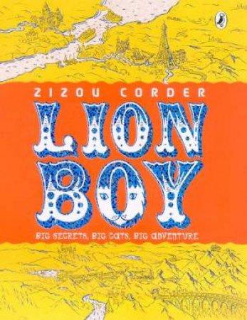Lion Boy by Zizou Corder