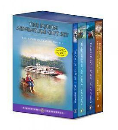 Puffin Adventure Boxed Set by Various