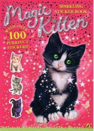 Magic Kitten Sparkling Sticker Book by Sue Bentley