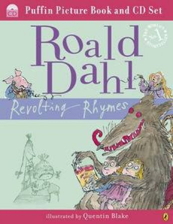 Revolting Rhymes (Book and CD) by Roald Dahl