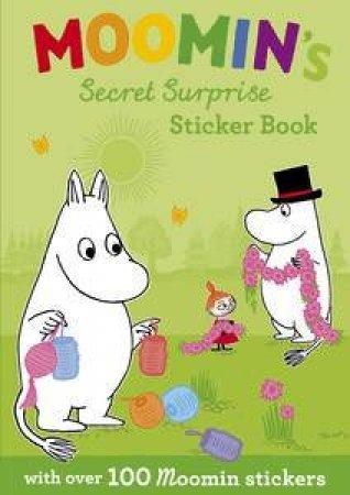 Moomin's Secret Surprise Sticker Book by Jansson Tove