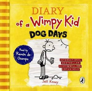 Dog Days: Diary of a Wimpy Kid V4 by Jeff Kinney