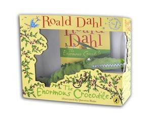 The Enormous Crocodile: Book and Toy Gift Set by Roald Dahl