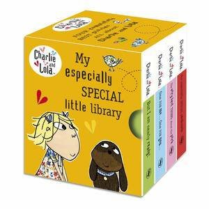 My Especially Special Little Library: Charlie and Lola by Lauren Child