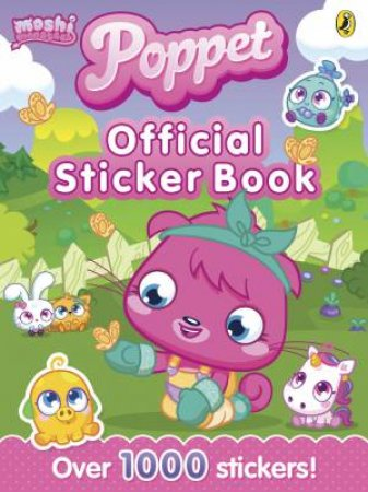 Moshi Monsters: Poppet: Official Sticker Book by Various