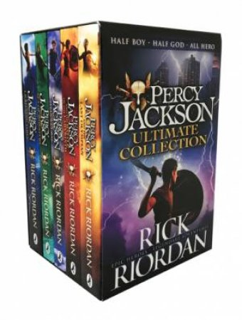 Percy Jackson Ultimate Collection by Rick Riordan