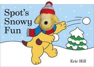 Spot's Snowy Fun: Finger Puppet Book by Eric Hill