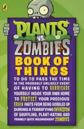 Plants vs. Zombies: Book of Things to Do by Various