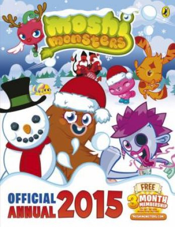 Moshi Monsters: Official Annual 2015 by Various