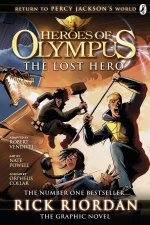 Heroes of Olympus The Lost Hero The Graphic Novel