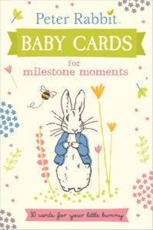 Peter Rabbit: Baby Cards for Milestone Moments