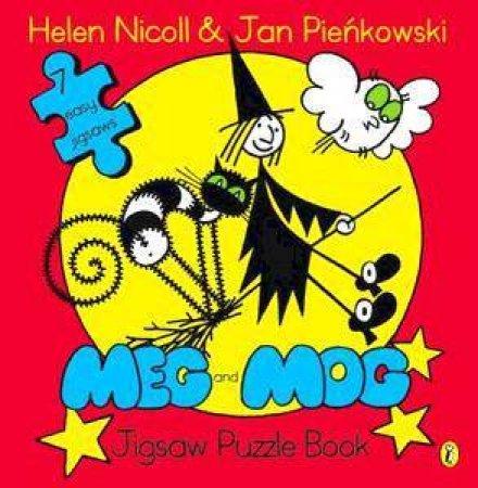 Meg And Mog Jigsaw Puzzle Book by Helen Nicoll & Jan Pienkowski