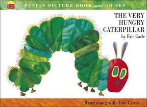 The Very Hungry Caterpillar with CD by Eric Carle