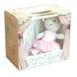 Angelina Ballerina: Box Set With Toy by Katharine Holabird