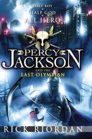 Percy Jackson: Last Olympian by Rick Riordan