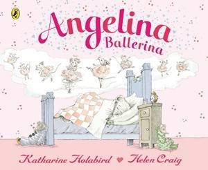 Angelina Ballerina Board Book by Katharine Holabird