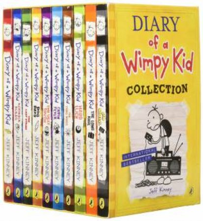 Diary Of A Wimpy Kid Collection (Books 01-10) by Jeff Kinney
