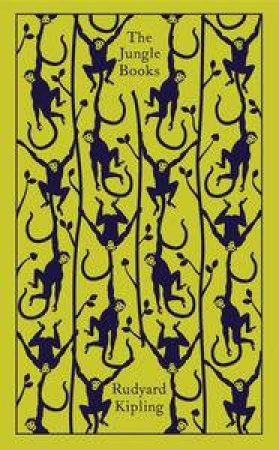 Penguin Clothbound Classics: The Jungle Books by Rudyard Kipling
