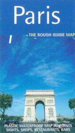 The Rough Guide Map To Paris by Michael Middleditch