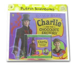 Charlie & Choc Factory: Book & CD by Roald Dahl