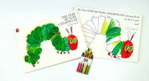 Very Hungry Caterpillar Colouring Pack by Eric Carle