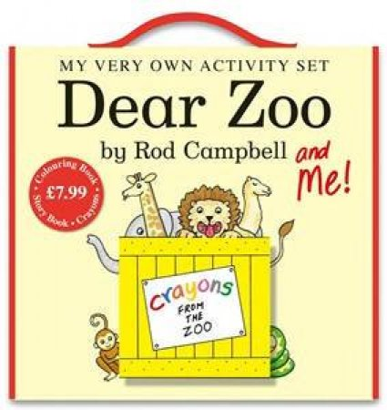 My Very Own Dear Zoo Activity Pack by Rod Campbell