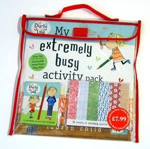 Charlie And Lola: My Extremely Busy Activity Pack by Lauren Child