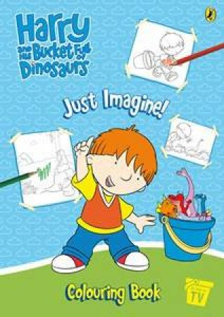 Harry And His Bucket Full Of Dinosaurs: Just Imagine! Colouring Book by Various