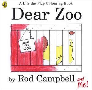 Dear Zoo: A Lift the Flap Colouring Book by Rod Campbell