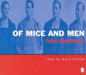 Of Mice & Men  - CD by John Steinbeck