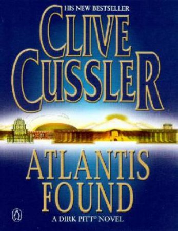 Atlantis Found - Cassette by Clive Cussler