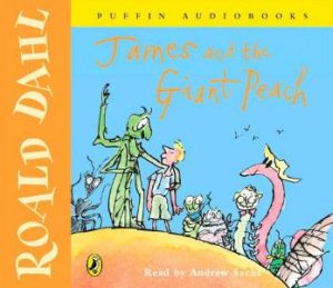 James And The Giant Peach CD by Roald Dahl