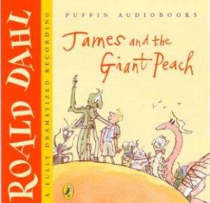 James And The Giant Peach CD by Roald Dahl