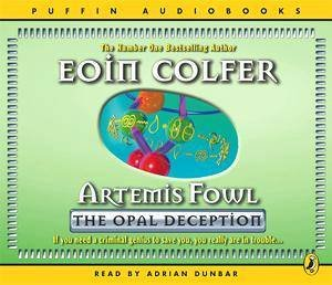 Artemis Fowl: The Opal Deception - CD by Eoin Colfer