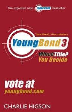 Young Bond 3 - CD by Charlie Higson