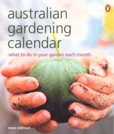 The Australian Gardening Calendar by Adult Publishing Penguin