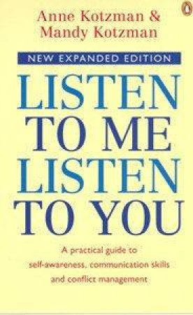 Listen To Me, Listen To You by Anne & Mandy Kotzman