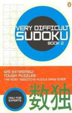 Very Difficult Sudoku Book 2 by Carlton Books