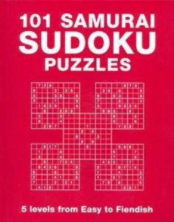 101 Samurai Sudoku Puzzles by David J Nixon