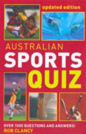 Australian Sports Quiz by Rob Clancy