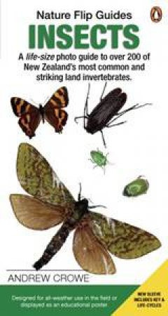 Insects: Nature Flip Guides by Andrew Crowe
