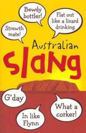 Australian Slang by Anon