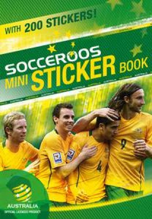 Socceroos Mini Sticker Book by Various