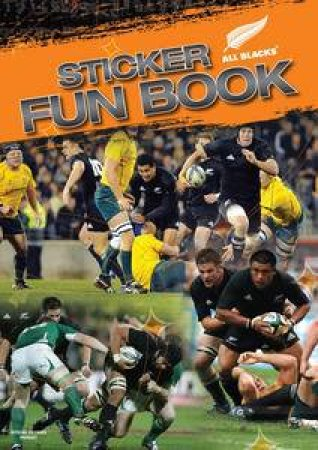 All Blacks Sticker Fun Book by Peter Harold