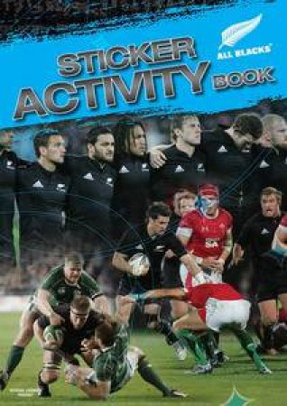 All Blacks Sticker Activity Book by Peter Harold