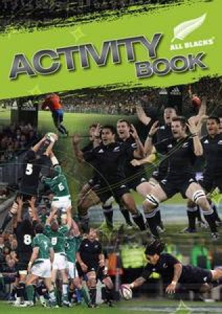 All Blacks Activity Book by Peter Harold