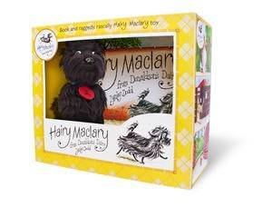 Hairy Maclary From Donaldson's Dairy: Book and Plush Set by Lynley Dodd