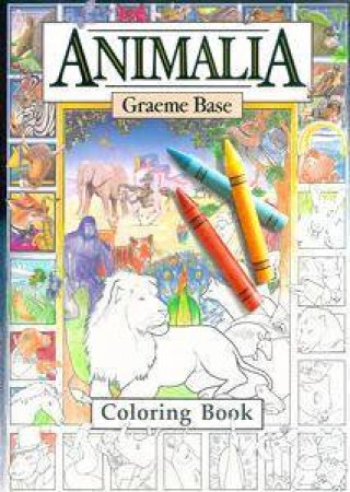 Animalia Colouring Book by Graeme Base